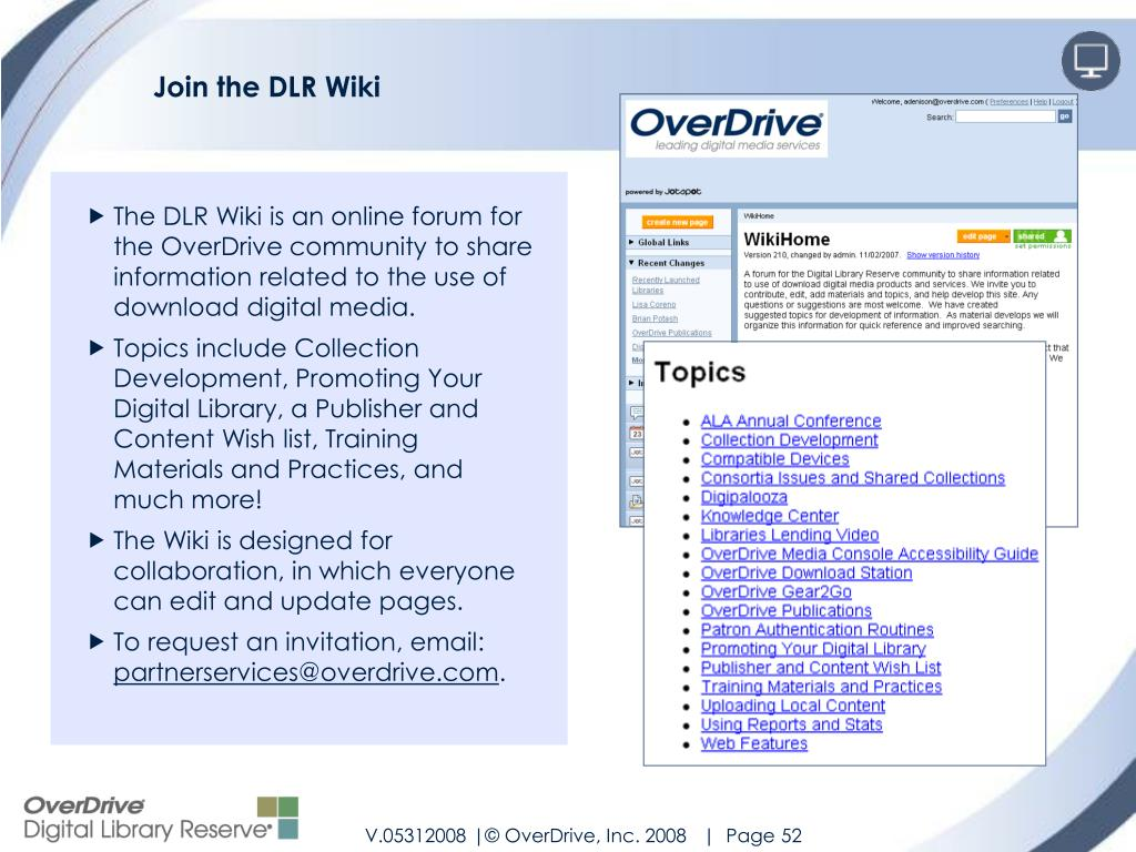 Join the DLR Wiki