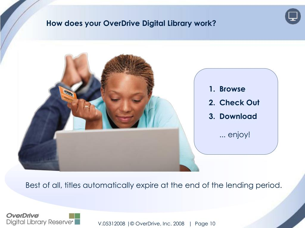 How does your OverDrive Digital Library work?