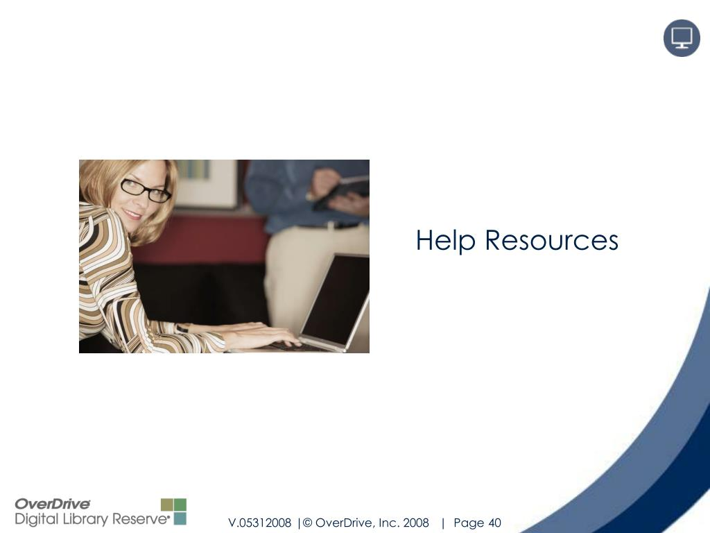 Help Resources