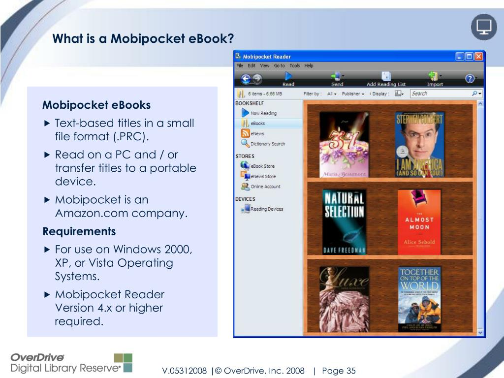 What is a Mobipocket eBook?