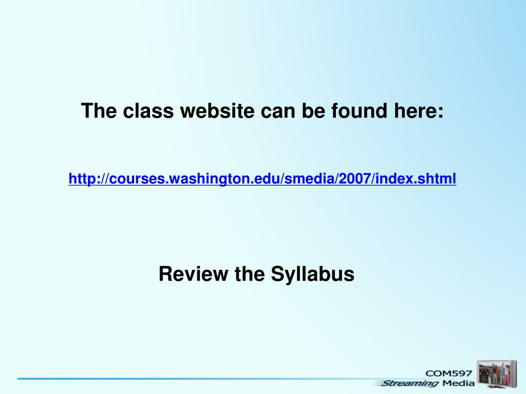 The class website can be found here: