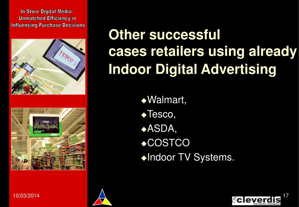 In Store Digital Media -