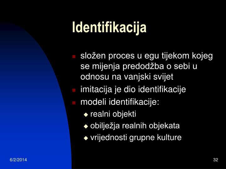 Identifikacija