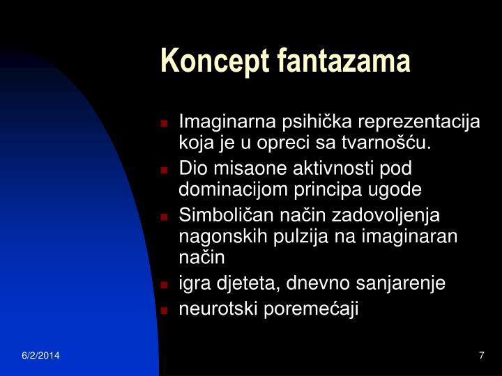 Koncept fantazama