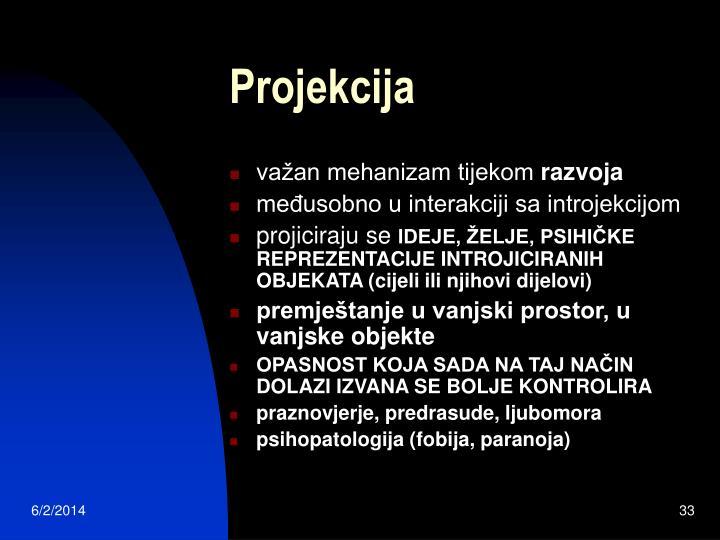 Projekcija