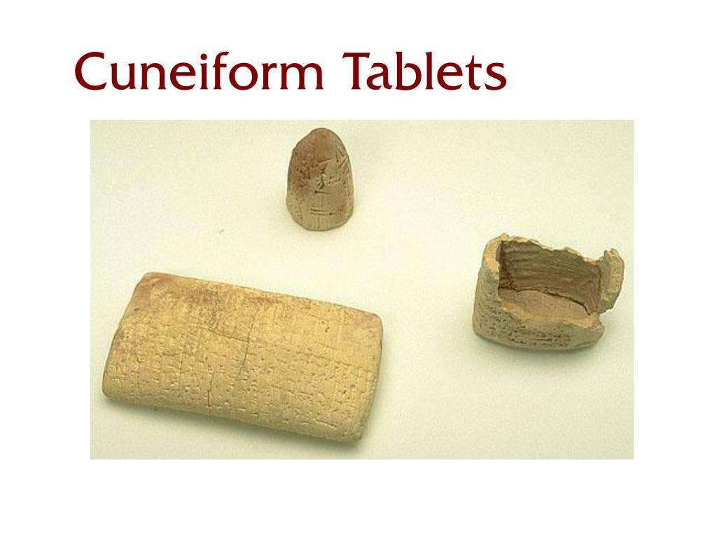 Cuneiform Tablets