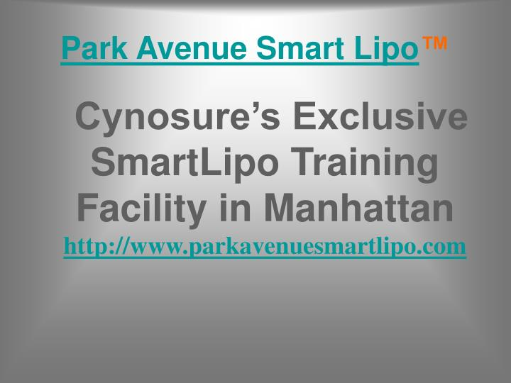 Park Avenue Smart Lipo
