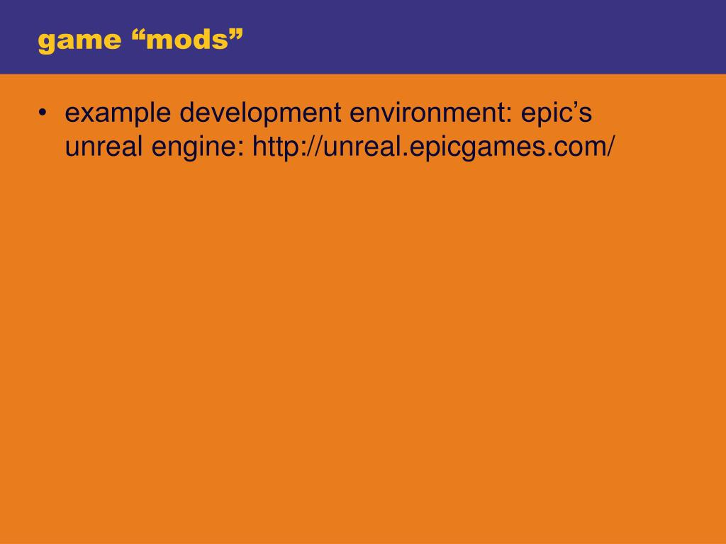 "game ""mods"""