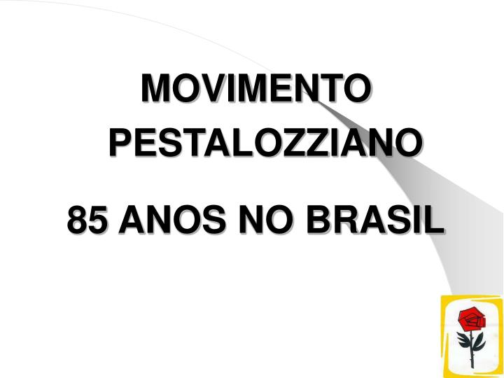 MOVIMENTO PESTALOZZIANO