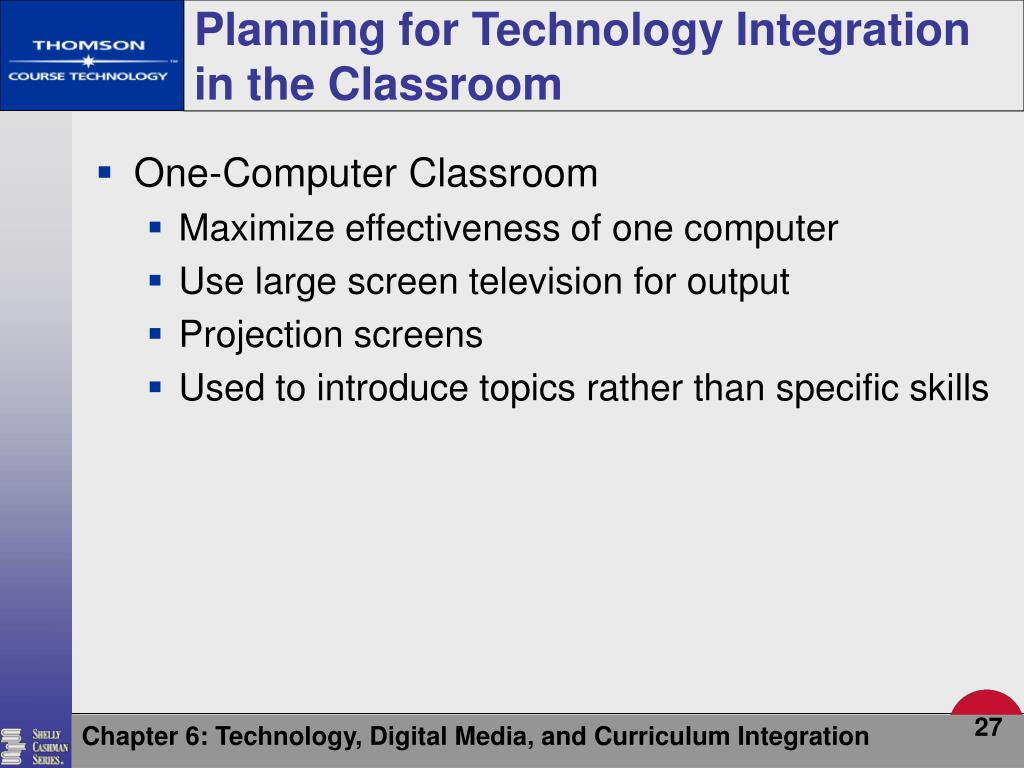 Planning for Technology Integration in the Classroom
