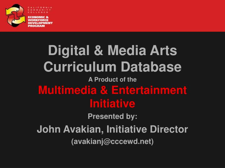 A product of the multimedia entertainment initiative3