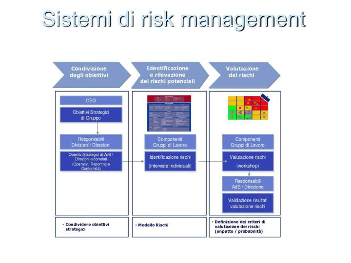 Sistemi di risk management