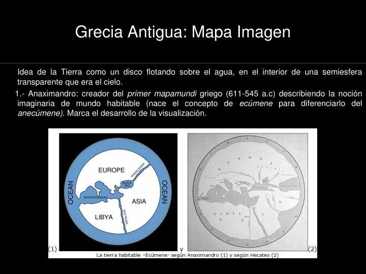Grecia Antigua: Mapa Imagen