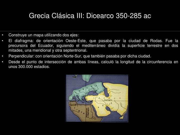 Grecia Clásica III: