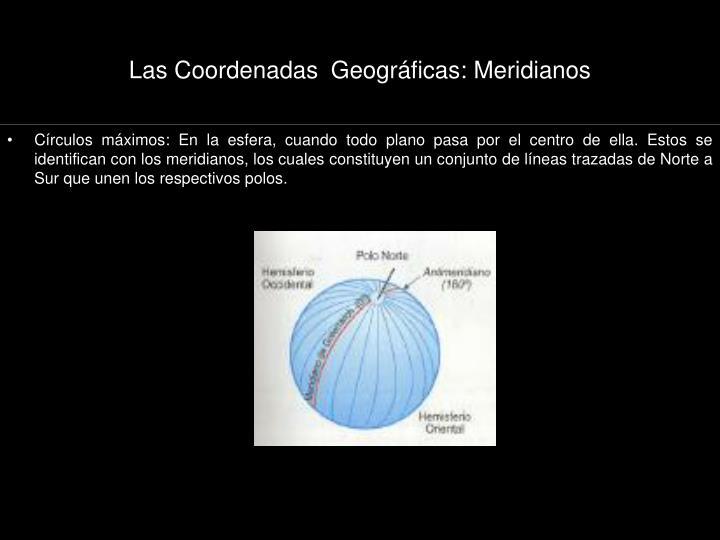 Las Coordenadas