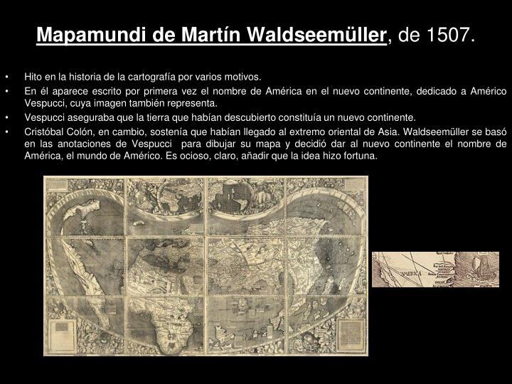 Mapamundi de Martín