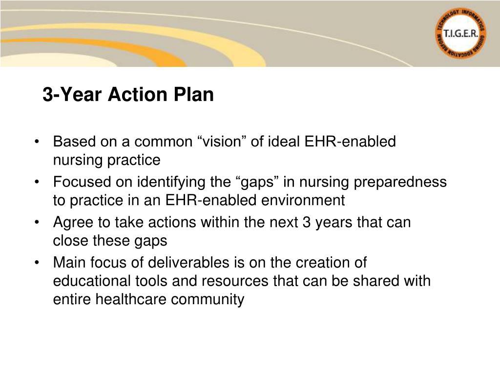 3-Year Action Plan