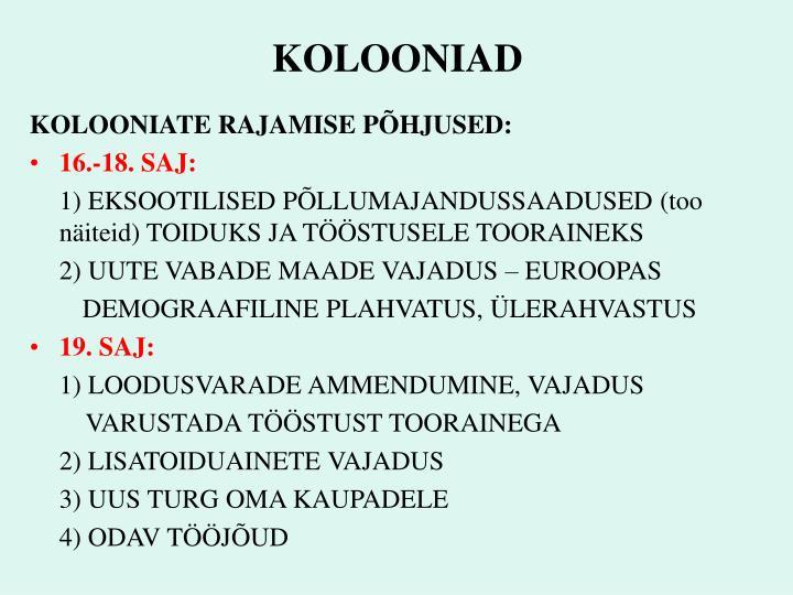 KOLOONIAD