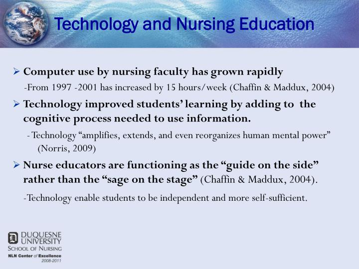 Technology and nursing education3