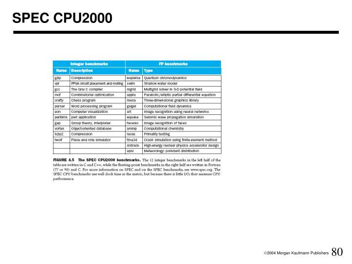 SPEC CPU2000