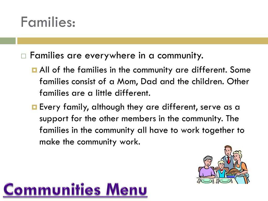 Families: