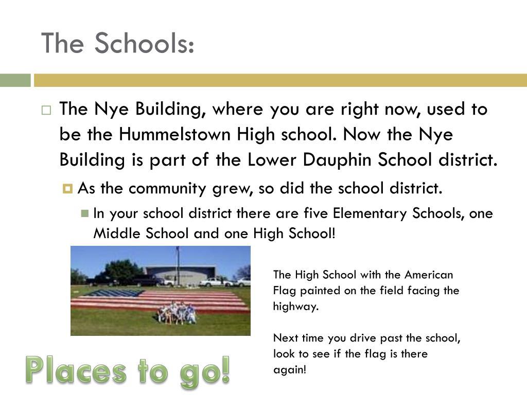 The Schools: