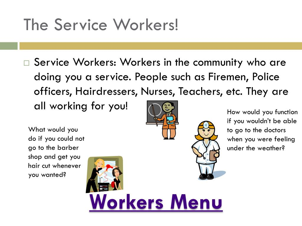 The Service Workers!