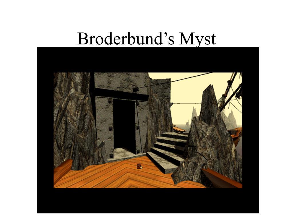 Broderbund's Myst