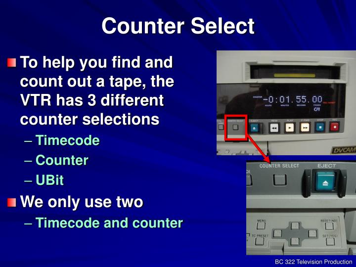 Counter Select