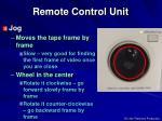 remote control unit2
