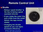 remote control unit4