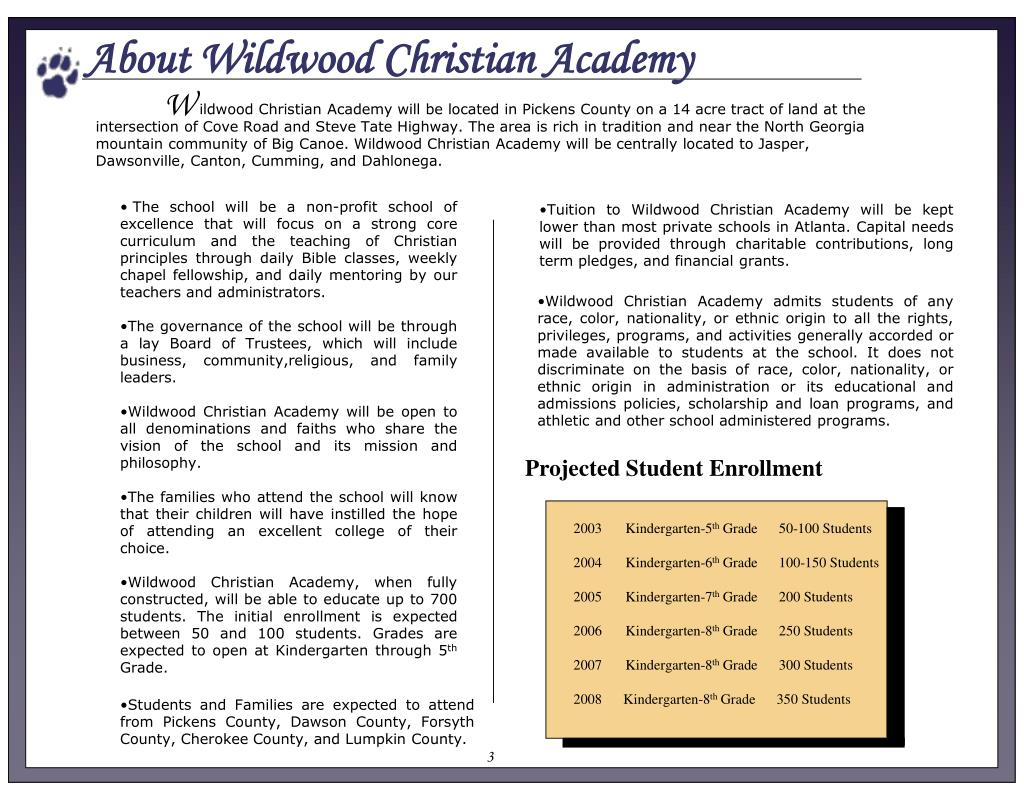 About Wildwood Christian Academy