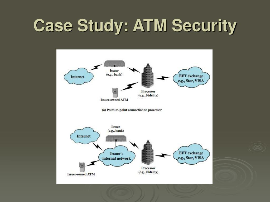 Case Study: ATM Security