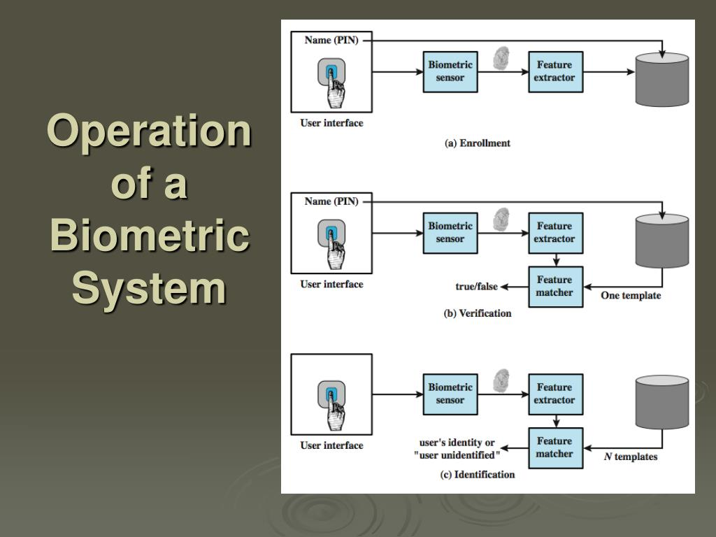 Operation of a Biometric System