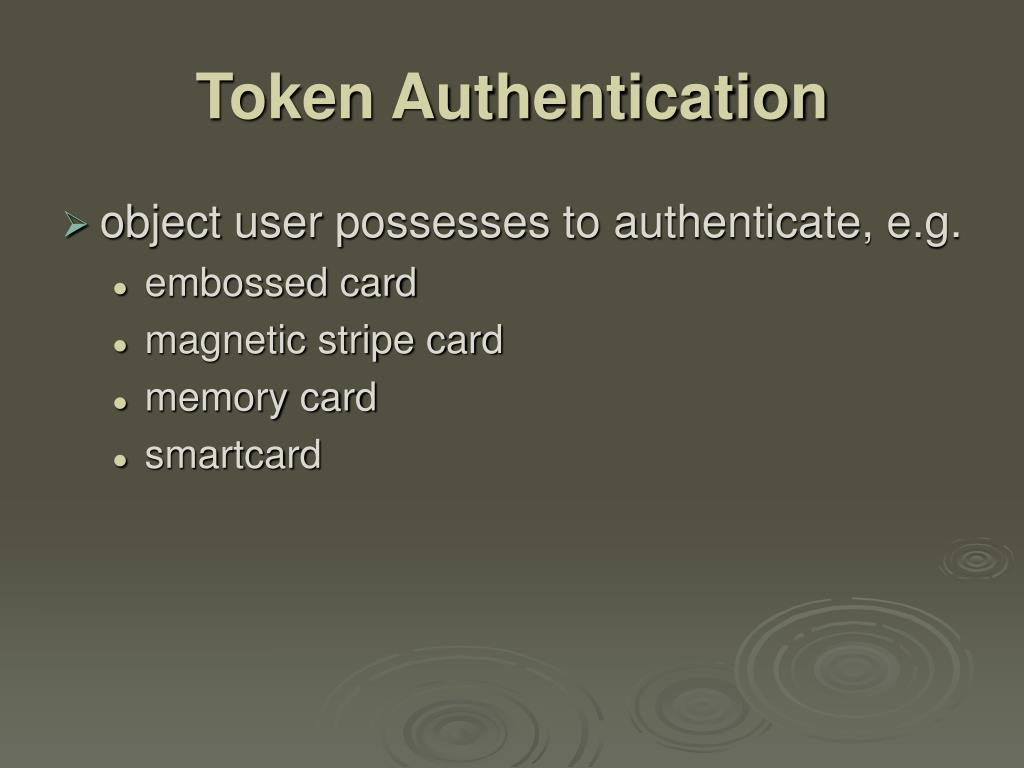 Token Authentication