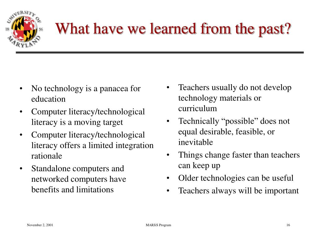 No technology is a panacea for education
