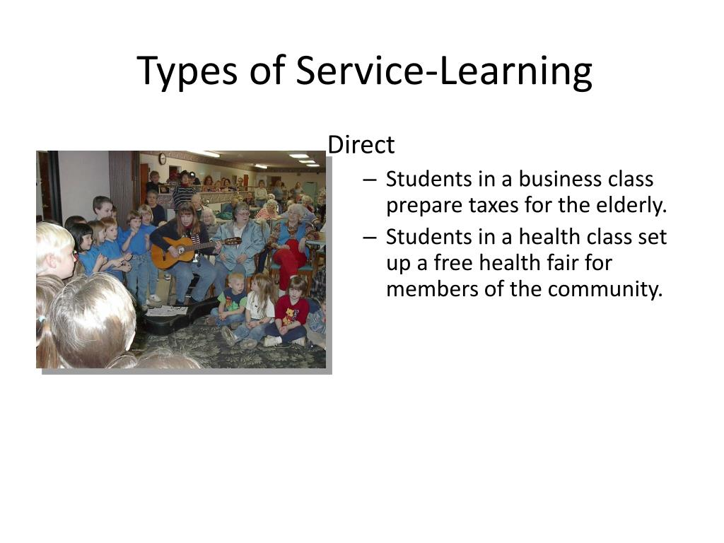 Types of Service-Learning