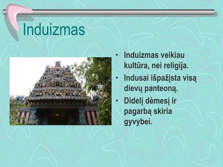 Induizmas