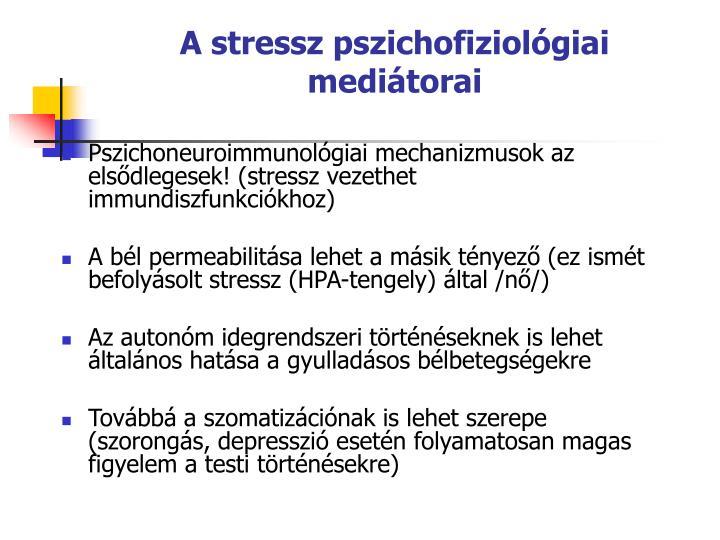 A stressz pszichofiziolgiai meditorai