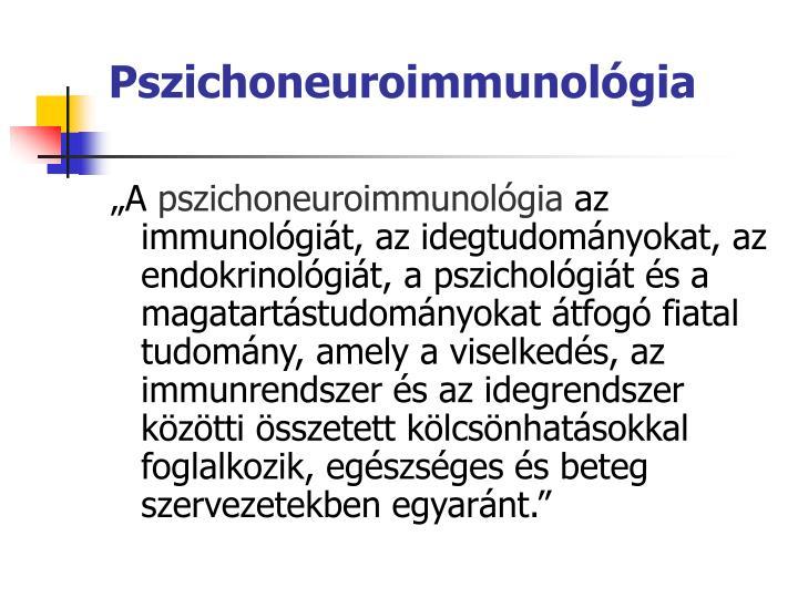 Pszichoneuroimmunolgia