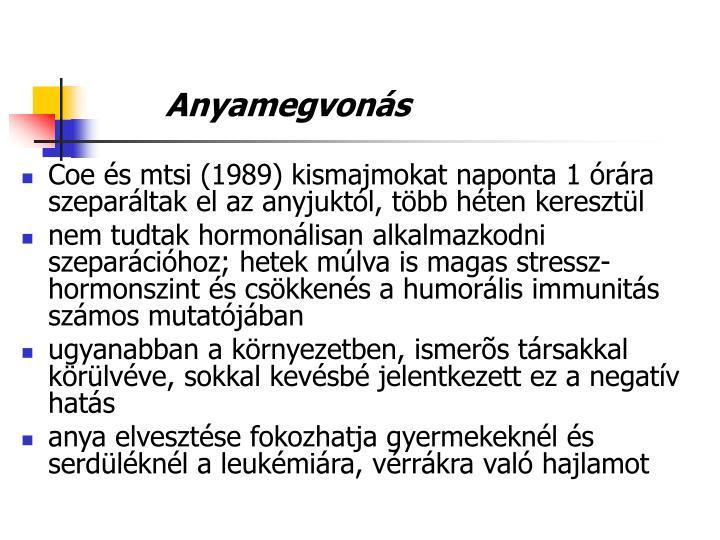 Anyamegvons