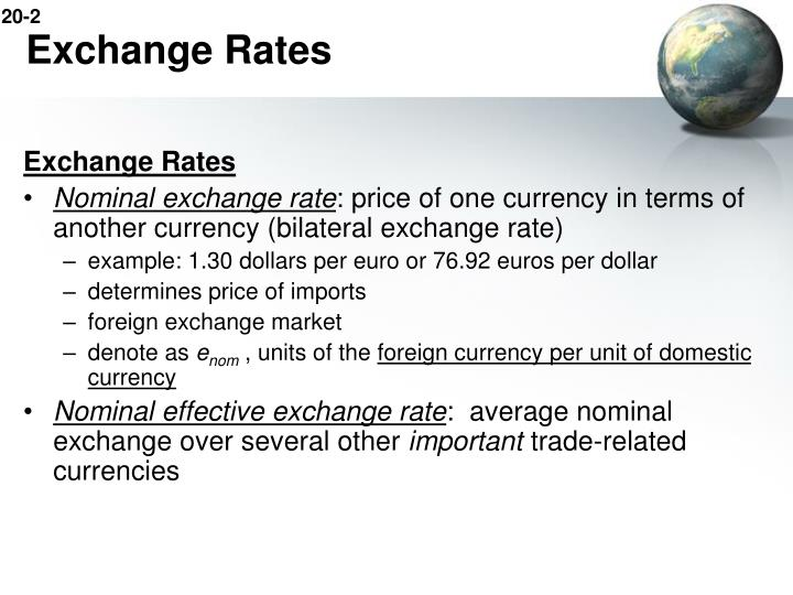 Exchange rates2