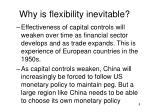 why is flexibility inevitable