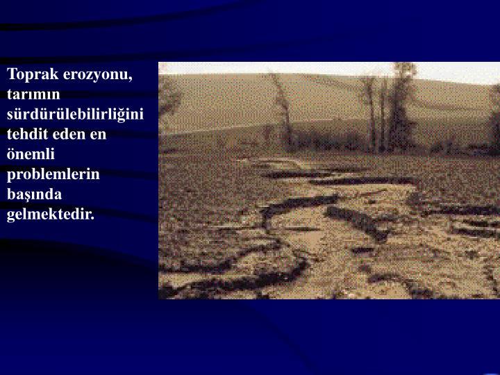 Toprak erozyonu,