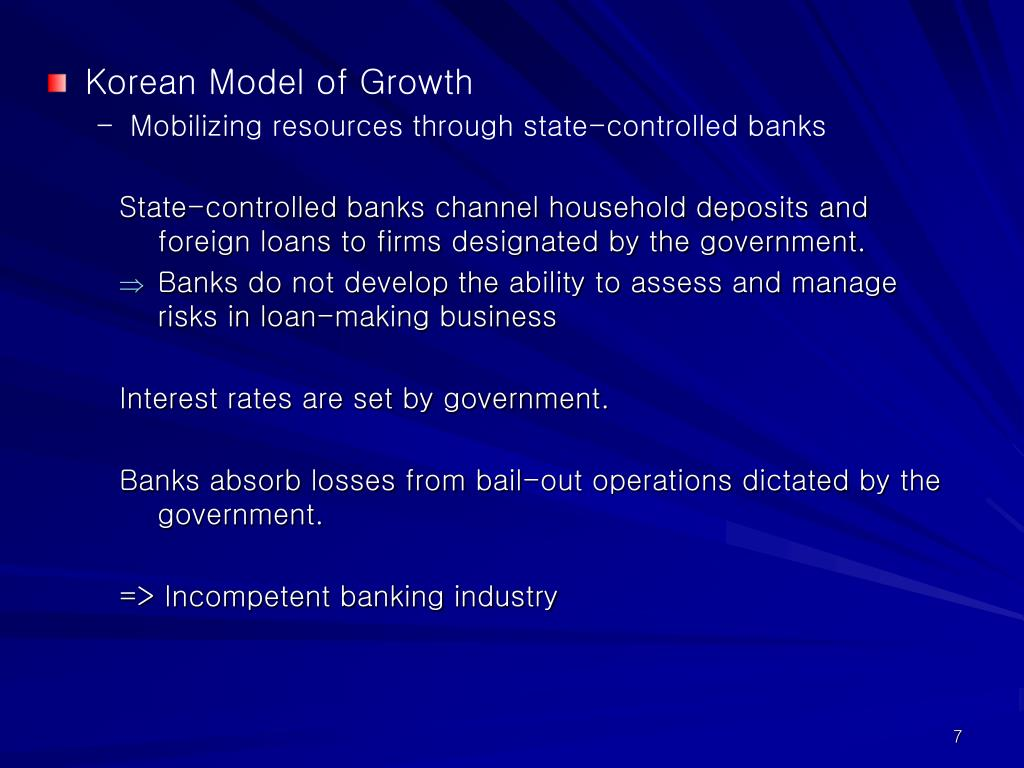 Korean Model of Growth