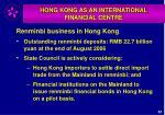 hong kong as an international financial centre36
