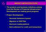market infrastructure