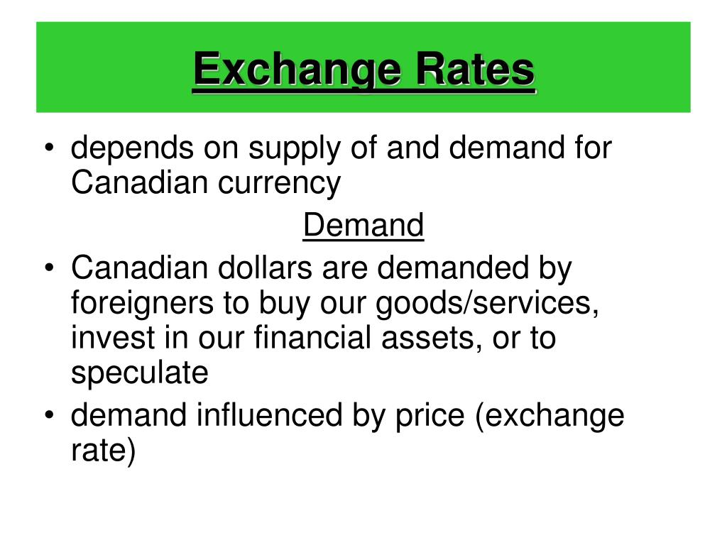 Exchange Rates