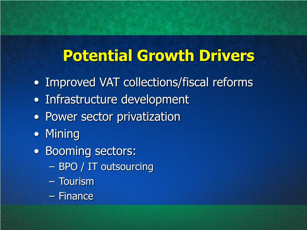 Potential Growth Drivers