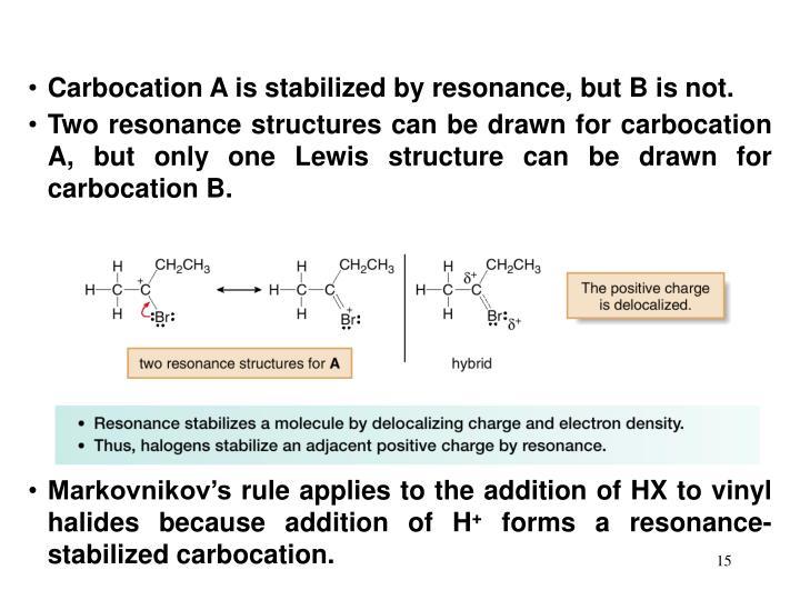 Carbocation